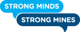 Strong Minds, Strong Mines Logo